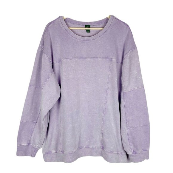 Wild Fable Lavender Crew Neck Sweatshirt